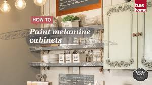 can you paint melamine cabinets paint melamine cabinets