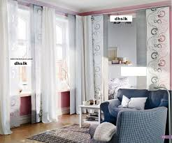 Muslin Curtains Ikea by Panel Curtain Ikea Lill 280 X 250cm Long White Sheer Net Curtain
