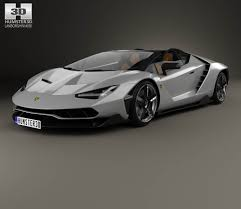 lamborghini car 2017 lamborghini centenario roadster 2017 3d model from hum3d com