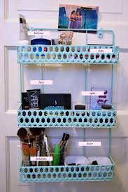 hair and makeup storage space makeup organization ideas