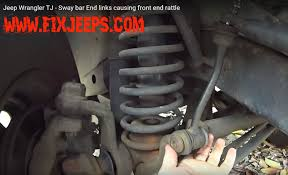 jeep sway bar jeep wrangler sway bar link install ones on a tj