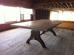 Industrial Style Dining Room Tables Industrial Dining Room Furniture Bettrpiccom Pictures And Style