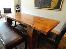 Wooden Tables And Benches Glamorous Dark Wood Dining Table With Bench Set Love This Maybe