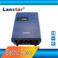 6 wire electric fence lx 2008c6d perimeter security energizers