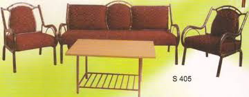 Steel Sofa Manufacturer  Wholesaler From Indore - Steel sofa designs
