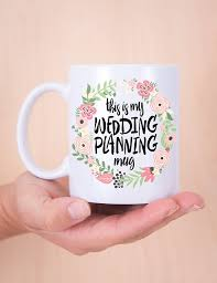 amazon com wedding planning mug gift for bride or planner gift