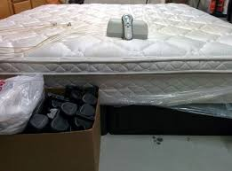 pillow top for sleep number bed select comfort sleep number 5000 eastern king pillowtop mattress