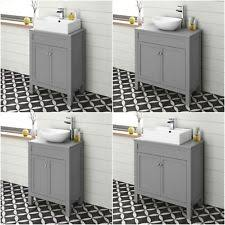 countertop bathroom sink units counter top sink unit ebay