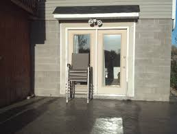 interior decorative cinder blocks retaining wall mudroom storage