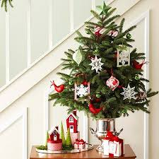 small decorative christmas trees for mantle christmas2017