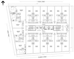 Residential Plan by Proposed Building At 169 Canal Street Greater City Providence