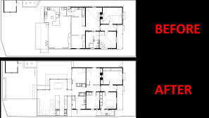 federation house renovation idea with room layout rearrangement