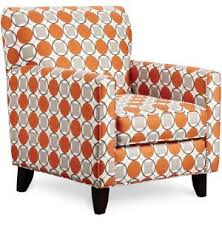 Burnt Orange Accent Chair Orange Pattern Chair Search Spaces Chair