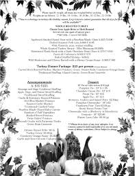 thanksgiving menu 2017 rhode island catering company