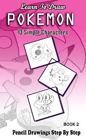 buy learn to draw pokemon pencil drawings step by step book 5