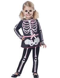 child itty bitty bones skeleton costume jokers masquerade kids