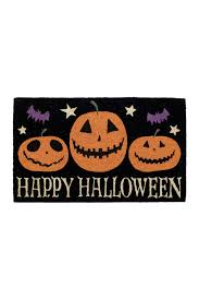 picture of happy halloween design imports happy halloween doormat nordstrom rack