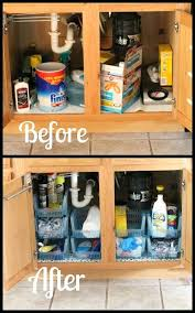 under kitchen sink storage solutions add storage space kitchen sink adding hooks cleaning tools solutions