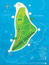 Optimum Hotspot Map 100 Seychelles Map Blue Praslin Island Map Icon Stock