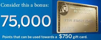 Business Gold Rewards Card From American Express Credit Card Bonus Success And 75 000 Membership Rewards Point