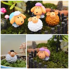 Office Pots by Best Mix Styles Diy Mini Sheep Figurines Office Table Bonsai Decor