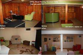 painting over wood paneling 1970s basement family room pictures to pin on pinterest pinsdaddy