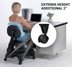 amazon com sivan height extenders 2 u201d for balance ball chairs