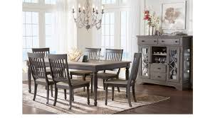 ocean grove gray 5 pc dining room rectangle traditional