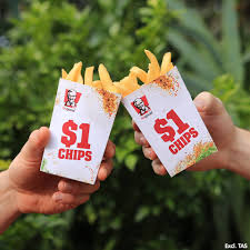 kfc chip lovers unite u2026 our one dollar chips are back facebook