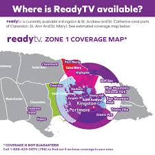 Tv Reception Map Here Is Our Current Coverage Map Ready Tv Jamaica Facebook