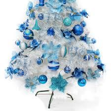 navy blue christmas tree christmas lights decoration