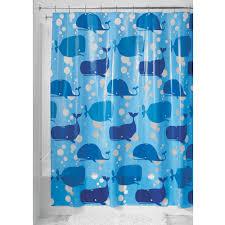 Baby Bathroom Shower Curtains by Amazon Com Interdesign Novelty Eva Shower Curtain 72 Inch By 72
