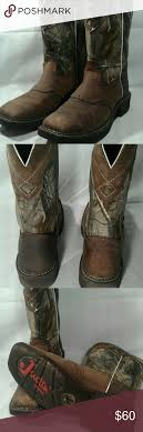 womens justin boots size 9 s camo justin boots size 9 boots are in used