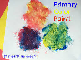 mini monets and mommies process art for kids paint with gauze
