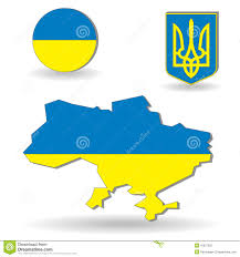 Ukraine Flag The Ukraine Flag And Map Illustration 16637258 Megapixl