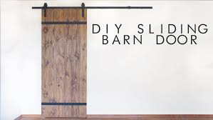 How To Make Your Own Barn Door by Diy Modern Sliding Barn Door Modern Builds Ep 43 Youtube