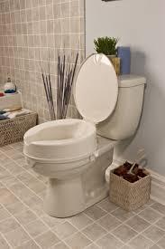 siège toilette surélevé siège surélevé pour toilettes look avec ou sans couvercle de human