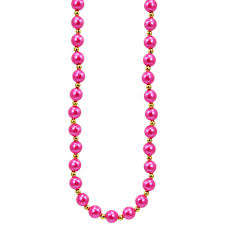 pink pearls necklace images Hot pink pearls necklace jpg