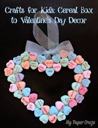 for kids cereal box to valentine u0027s day decor my paper craze