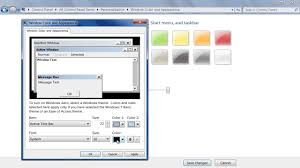 Windows 7 Top Bar How To Change Default Fonts In Windows 7 Youtube