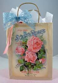 Shabby Chic Gift Bags by 129 Best Altered Bags Images On Pinterest Altered Canvas Canvas