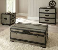 steamer trunk side table choose the best of antiquity steamer trunk coffee table