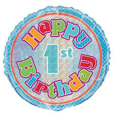 birthday helium balloons morrisons 1st birthday helium balloon product information