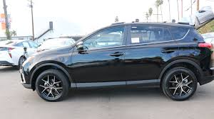 cars toyota black 2016 toyota rav4 special edition black se best deals in los
