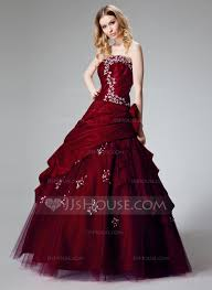 quincenera dresses gown strapless floor length taffeta quinceanera dress with