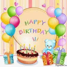 happy happy birthday from all of us to you we wish it was your