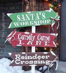 Outdoor Wooden Christmas Decorations Australia by Santa Stops Here In Days Rustic Wood Christmas Sign At Walking
