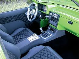 Diamond Tuck Interior Custom 1990 Mazda B2200 Feature Truck Mini Truckin U0027 Magazine