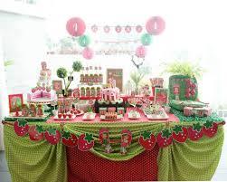 strawberry shortcake birthday party ideas strawberry shortcake themed birthday party via kara s party ideas