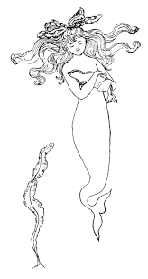 request day paper doll head mermaid palmer cox brownies